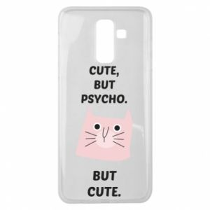 Samsung J8 2018 Case Cute but psycho but cute