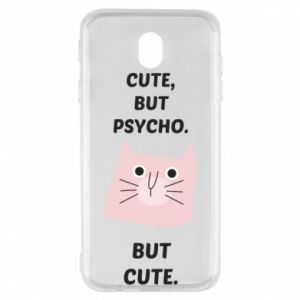 Samsung J7 2017 Case Cute but psycho but cute