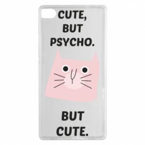 Huawei P8 Case Cute but psycho but cute