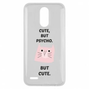 Lg K10 2017 Case Cute but psycho but cute