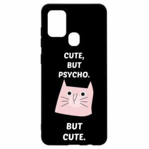 Samsung A21s Case Cute but psycho but cute