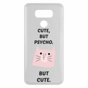 LG G6 Case Cute but psycho but cute
