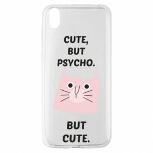 Huawei Y5 2019 Case Cute but psycho but cute