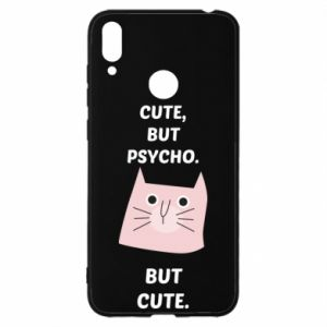 Huawei Y7 2019 Case Cute but psycho but cute