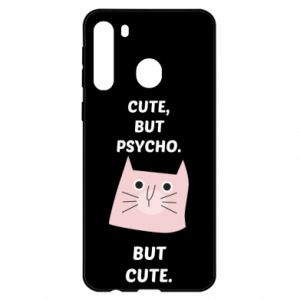 Samsung A21 Case Cute but psycho but cute