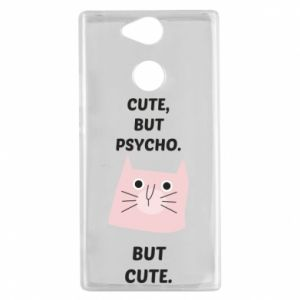 Sony Xperia XA2 Case Cute but psycho but cute