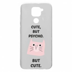 Xiaomi Redmi Note 9 / Redmi 10X case % print% Cute but psycho but cute
