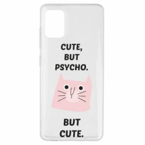 Samsung A51 Case Cute but psycho but cute