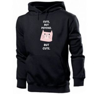 Men's hoodie Cute but psycho but cute