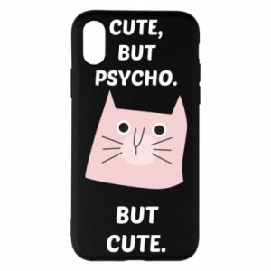 iPhone X/Xs Case Cute but psycho but cute