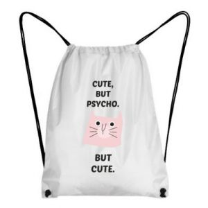 Backpack-bag Cute but psycho but cute