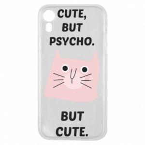 iPhone XR Case Cute but psycho but cute