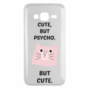 Samsung J3 2016 Case Cute but psycho but cute