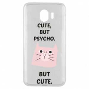 Samsung J4 Case Cute but psycho but cute