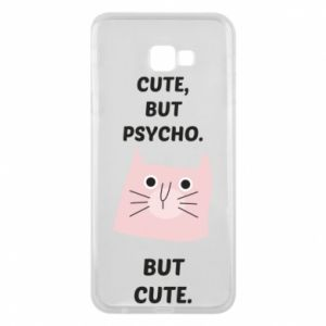 Samsung J4 Plus 2018 Case Cute but psycho but cute