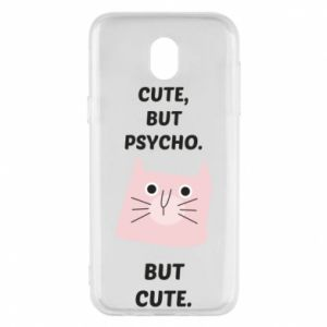 Samsung J5 2017 Case Cute but psycho but cute