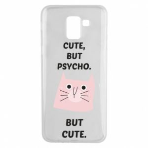 Samsung J6 Case Cute but psycho but cute