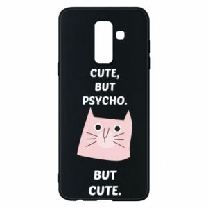 Samsung A6+ 2018 Case Cute but psycho but cute