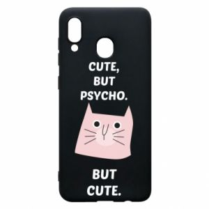 Samsung A20 Case Cute but psycho but cute