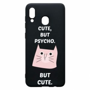 Samsung A30 Case Cute but psycho but cute