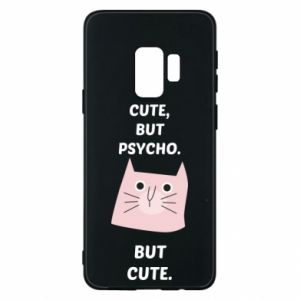 Samsung S9 Case Cute but psycho but cute