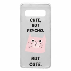 Samsung S10 Case Cute but psycho but cute