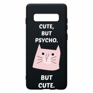 Samsung S10+ Case Cute but psycho but cute