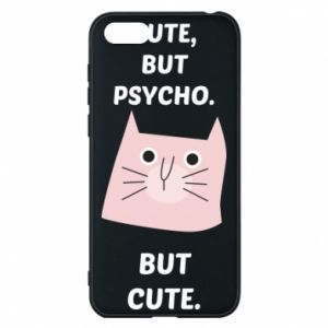 Huawei Y5 2018 Case Cute but psycho but cute