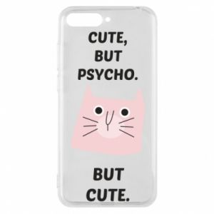 Huawei Y6 2018 Case Cute but psycho but cute