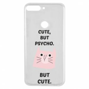 Huawei Y7 Prime 2018 Case Cute but psycho but cute