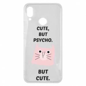Huawei P Smart Plus Case Cute but psycho but cute