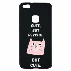 Huawei P10 Lite Case Cute but psycho but cute