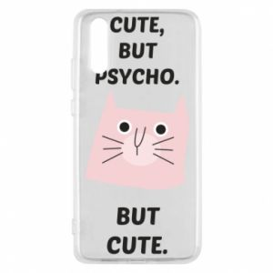 Huawei P20 Case Cute but psycho but cute