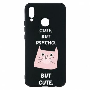 Huawei P20 Lite Case Cute but psycho but cute
