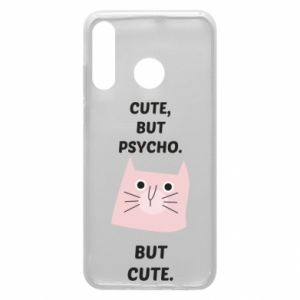 Huawei P30 Lite Case Cute but psycho but cute