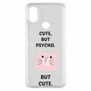 Xiaomi Mi A2 Case Cute but psycho but cute