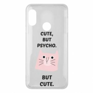 Mi A2 Lite Case Cute but psycho but cute