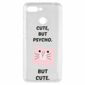 Xiaomi Redmi 6 Case Cute but psycho but cute