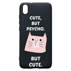 Xiaomi Redmi 7A Case Cute but psycho but cute