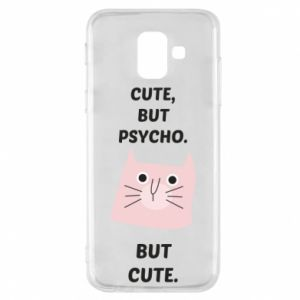 Samsung A6 2018 Case Cute but psycho but cute