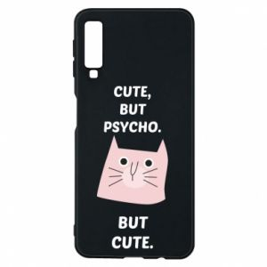 Samsung A7 2018 Case Cute but psycho but cute