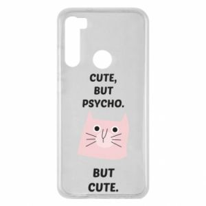 Xiaomi Redmi Note 8 Case Cute but psycho but cute