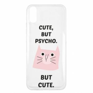 Xiaomi Redmi 9a Case Cute but psycho but cute