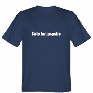 Koszulka Napis: cute but psycho