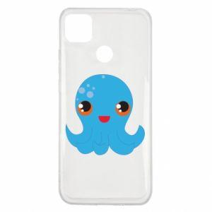 Etui na Xiaomi Redmi 9c Cute jellyfish