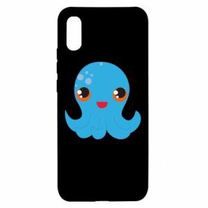 Etui na Xiaomi Redmi 9a Cute jellyfish