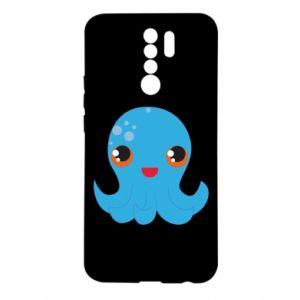 Etui na Xiaomi Redmi 9 Cute jellyfish