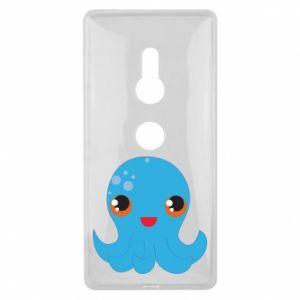 Etui na Sony Xperia XZ2 Cute jellyfish