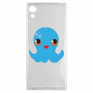 Etui na Sony Xperia XA1 Cute jellyfish