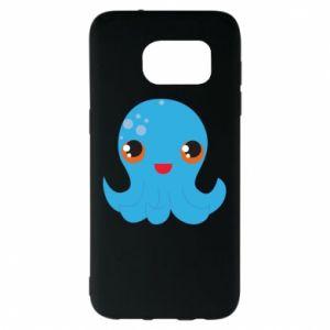 Etui na Samsung S7 EDGE Cute jellyfish